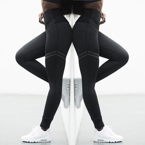 Leggings - High Elastic Quick Drying Fitness Leggings. Different Colours.
