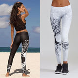 Leggings - Sports Tree Printed Leggings