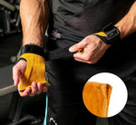 Sport Accessories - Gym Cowhide Hand Grips