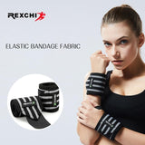 Sport Accessories - Powerlifting Wristband Elastic Support