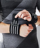 Sport Accessories - Powerlifting Wristband Elastic Support (Also Sold In Pairs)