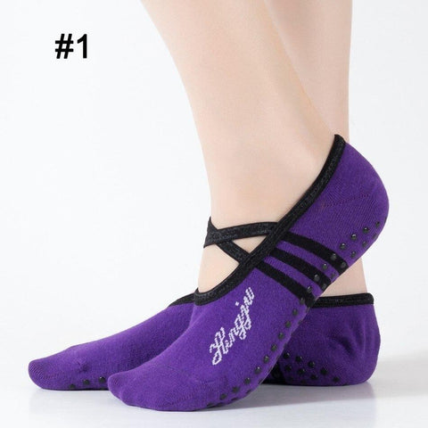 Sport Accessories - Sports Yoga Slipper Socks (BUY 2 PAIRS AND GET 1 FREE)