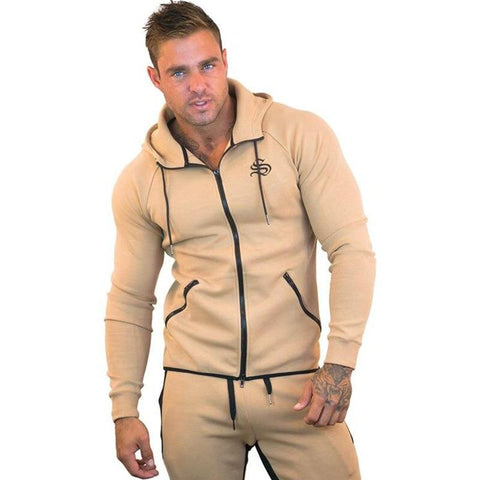 Sweatshirt - Strong Lift Jacket Hoodie