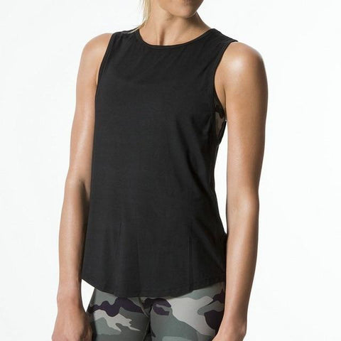 T-Shirt For Her - Cutout Backless Active Yoga Top