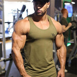 Tank Tops For Him - Bodybuilding Fitness Long Tank Top