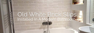 Old White Brick Tiles