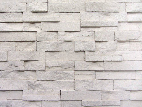Cream Stone Split Face Tiles Top View