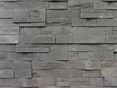 Grey Stone Split Face Tiles Top View