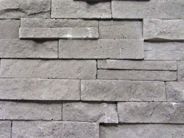 Grey Stone Split Face Tiles Zoomed View 1