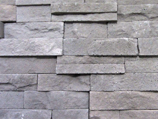 Grey Stone Split Face Tiles Zoomed View 2
