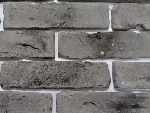 Old Grey Brick Slips Zoomed View 1