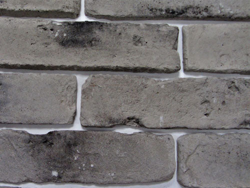 Old Grey Brick Slips Zoomed View 2