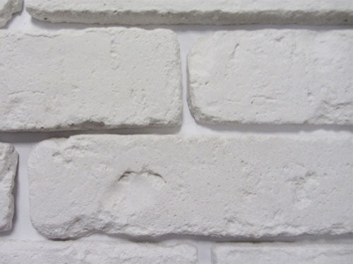 Old White Brick Slips Zoomed View 2