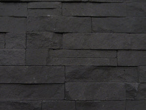Graphite Stone Split Face Tiles Top View