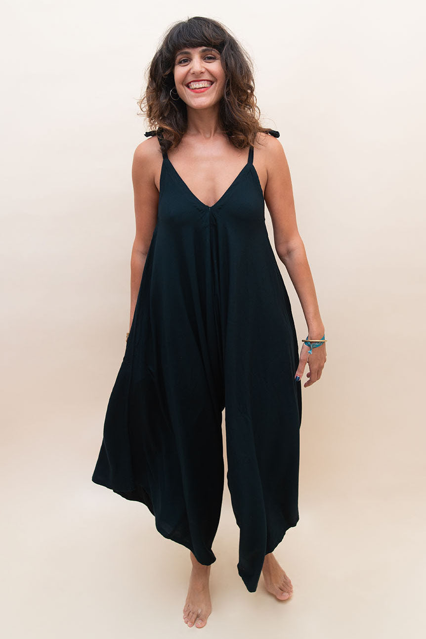 The Bali Jumpsuit - Black