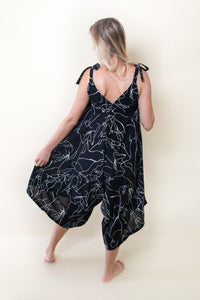 The Bali Jumpsuit - Black'n White Signatures