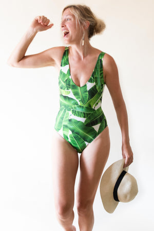 The Classic Swimsuit - Exotic Jungle