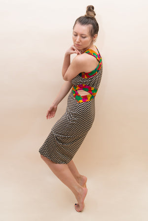The Ethno Diva Dress with Cut Outs