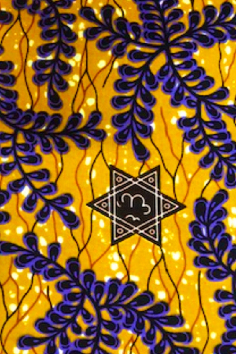 Yellow with Purples Leaves