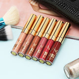 BEAUTY 6pcs Set Portable Professional Makeup 6 Colors Matte Liquid Lipstick DromedarShop.com Online Boutique