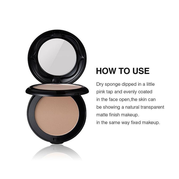 Double Layer Compact Matte Powder DromedarShop.com Online Boutique