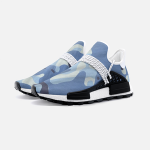 Blue Maniac Camouflage Unisex Lightweight Sneaker S-1 Boost DromedarShop.com Online Boutique