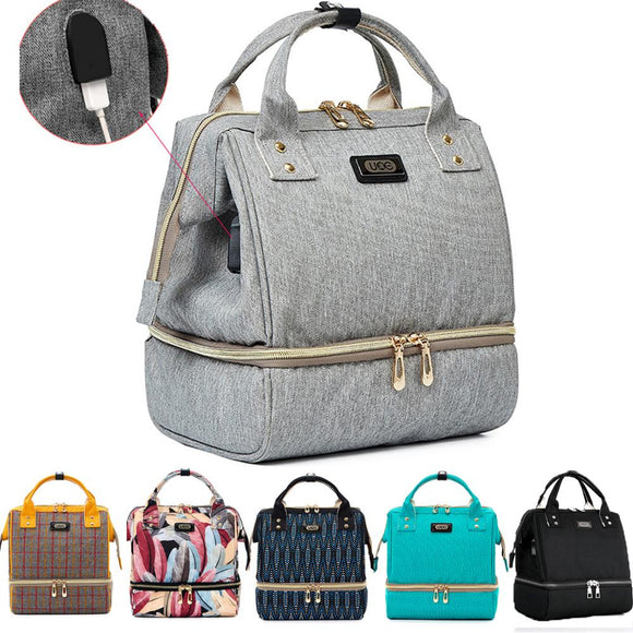 Fashion Diaper Bag, Large Capacity Baby Backpack For Mom DromedarShop.com Online Boutique