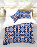 The Miracle of the East Square Arabic pattern  Queen Duvet Cover Set DromedarShop.com Online Boutique