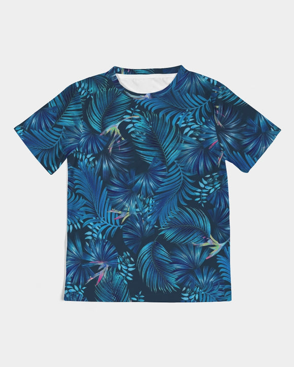 Floliage blue dream Kids Tee DromedarShop.com Online Boutique