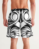 Maori Mask Collection Men's Swim Trunk DromedarShop.com Online Boutique