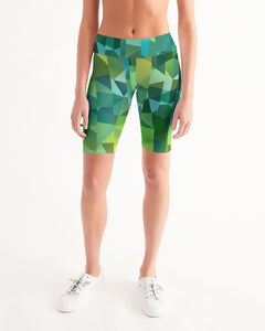 Green Line 101 Women's Mid-Rise Bike Shorts DromedarShop.com Online Boutique