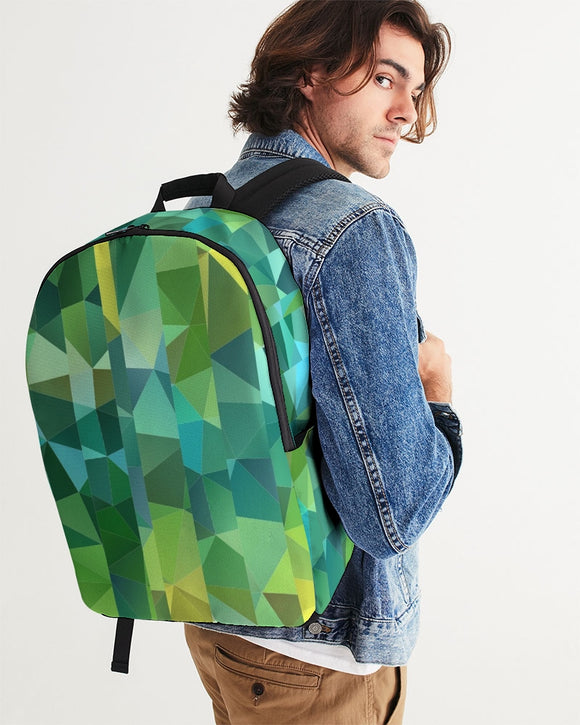 Green Line 101 Large Backpack DromedarShop.com Online Boutique
