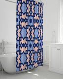 "The Miracle of the East Square Arabic pattern  Shower Curtain 72""x72"" DromedarShop.com Online Boutique"