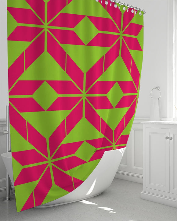 Aztec-Inka Collection Shower Curtain 72