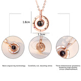 Rose Gold & Silver Necklace - DromedarShop.com Online Boutique