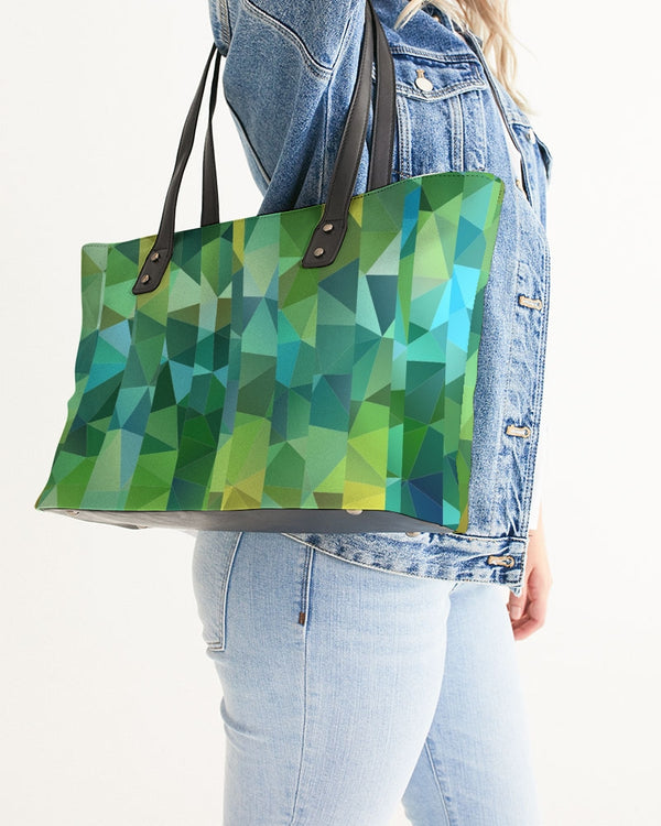 Green Line 101 Stylish Tote DromedarShop.com Online Boutique