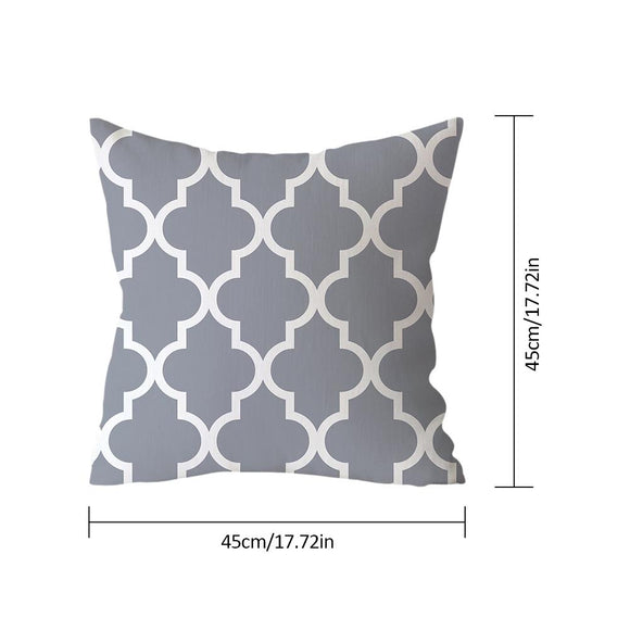 Geometric Nordic Line-Throw Pillow Case-Home Decor Collection DromedarShop.com Online Boutique