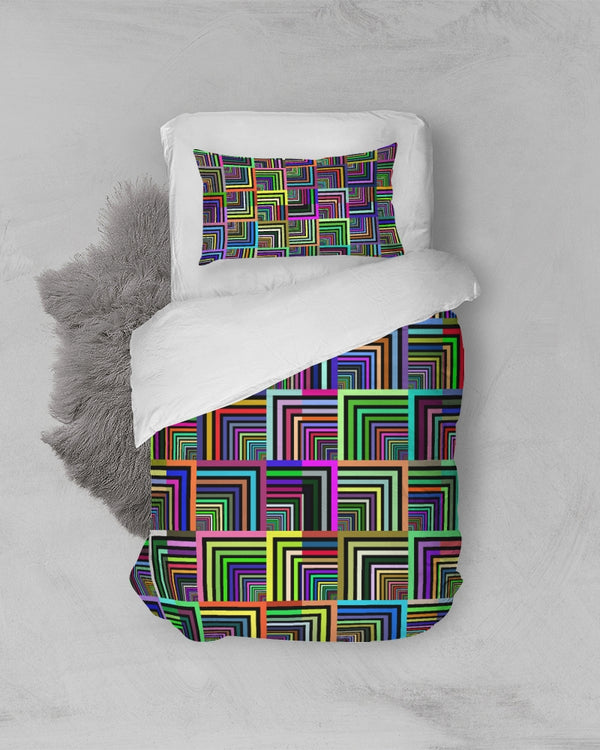 Pepita Design Collection Pepita Rainbow Twin Duvet Cover Set DromedarShop.com Online Boutique
