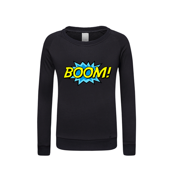 Boom Kids Graphic Sweatshirt DromedarShop.com Online Boutique