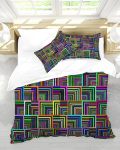 Pepita Design Collection Pepita Rainbow Queen Duvet Cover Set DromedarShop.com Online Boutique