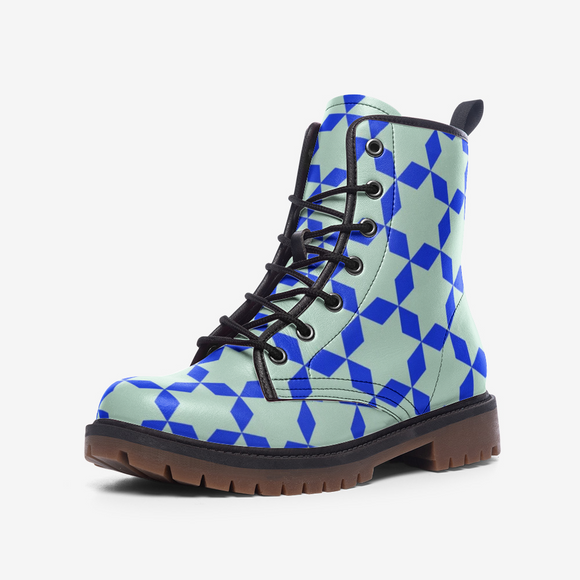 The Miracle of the East Blue Casual Leather Lightweight Unisex Boots DromedarShop.com Online Boutique