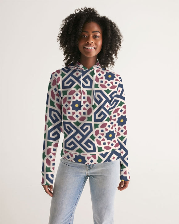 The Miracle of the East Moroccan pattern Women's Hoodie DromedarShop.com Online Boutique