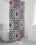 "The Miracle of the East Moroccan pattern  Shower Curtain 72""x72"" DromedarShop.com Online Boutique"