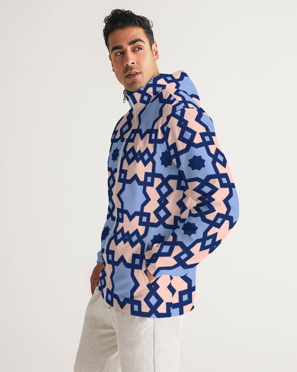 The Square Arabic pattern Men's Windbreaker DromedarShop.com Online Boutique