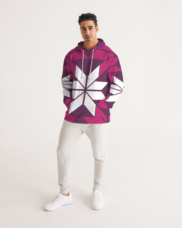 Aztec-Inka Collection Aztec Purple pattern Men's Hoodie DromedarShop.com Online Boutique