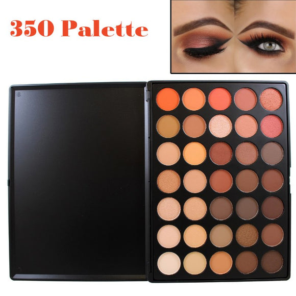 Professional 35 Color Eyeshadow Palette Makeup Set