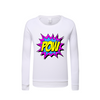 POW Kids Graphic Sweatshirt DromedarShop.com Online Boutique