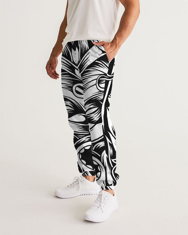 Maori Mask Collection Men's Track Pants DromedarShop.com Online Boutique