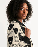 Kitty Takeover Women's Bomber Jacket DromedarShop.com Online Boutique