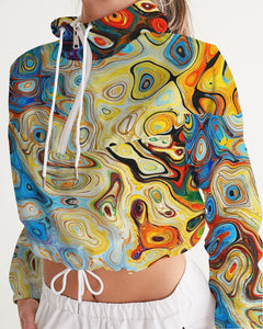 You Like Colors Women's Cropped Windbreaker DromedarShop.com Online Boutique